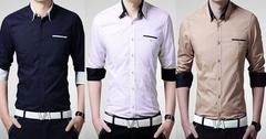 BRANDED COMBO OF 3 COTTON PREMIUM PARTYWEAR SHIRTS