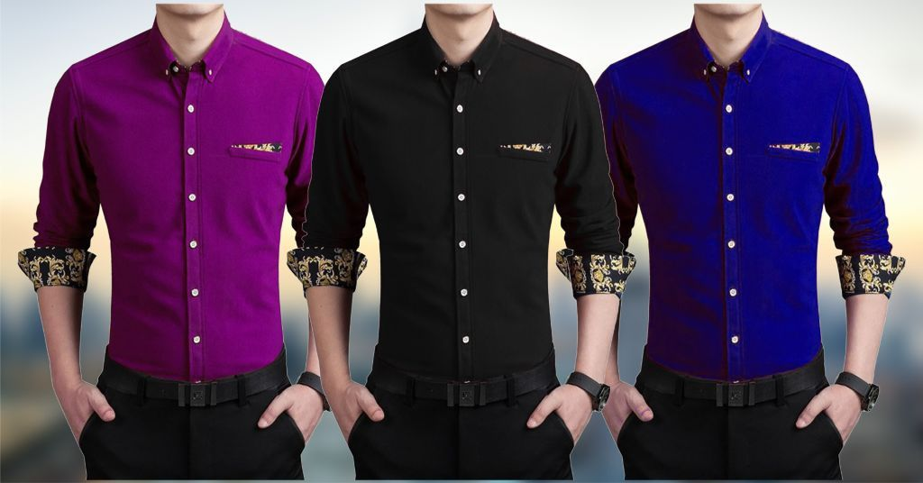COMBO OF 3 BRANDED SHIRTS