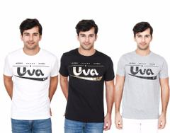 BrandTrendz Uva Pack of 3 T-Shirts