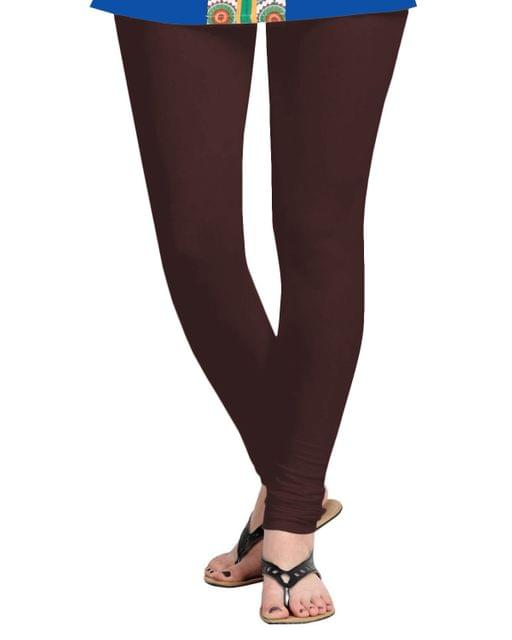 BrandTrendz Brown Cotton Leggings