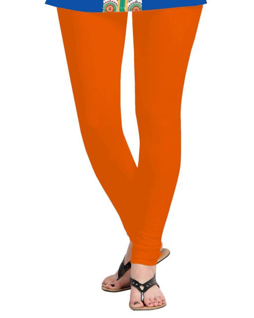 BrandTrendz Orange Cotton Leggings