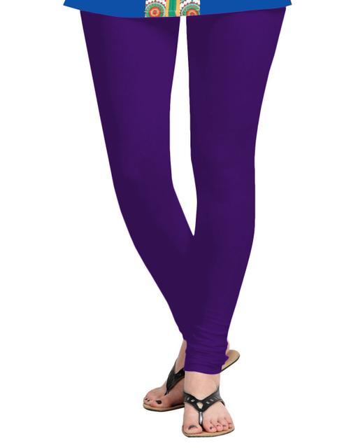 BrandTrendz Purple Cotton Leggings