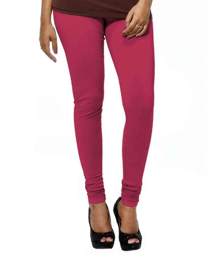 BrandTrendz Pink Cotton Leggings