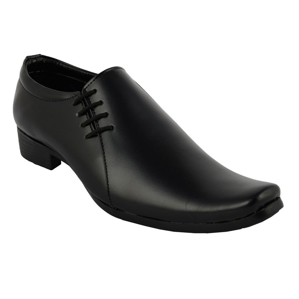 BrandTrendz Black Slip On Shoes