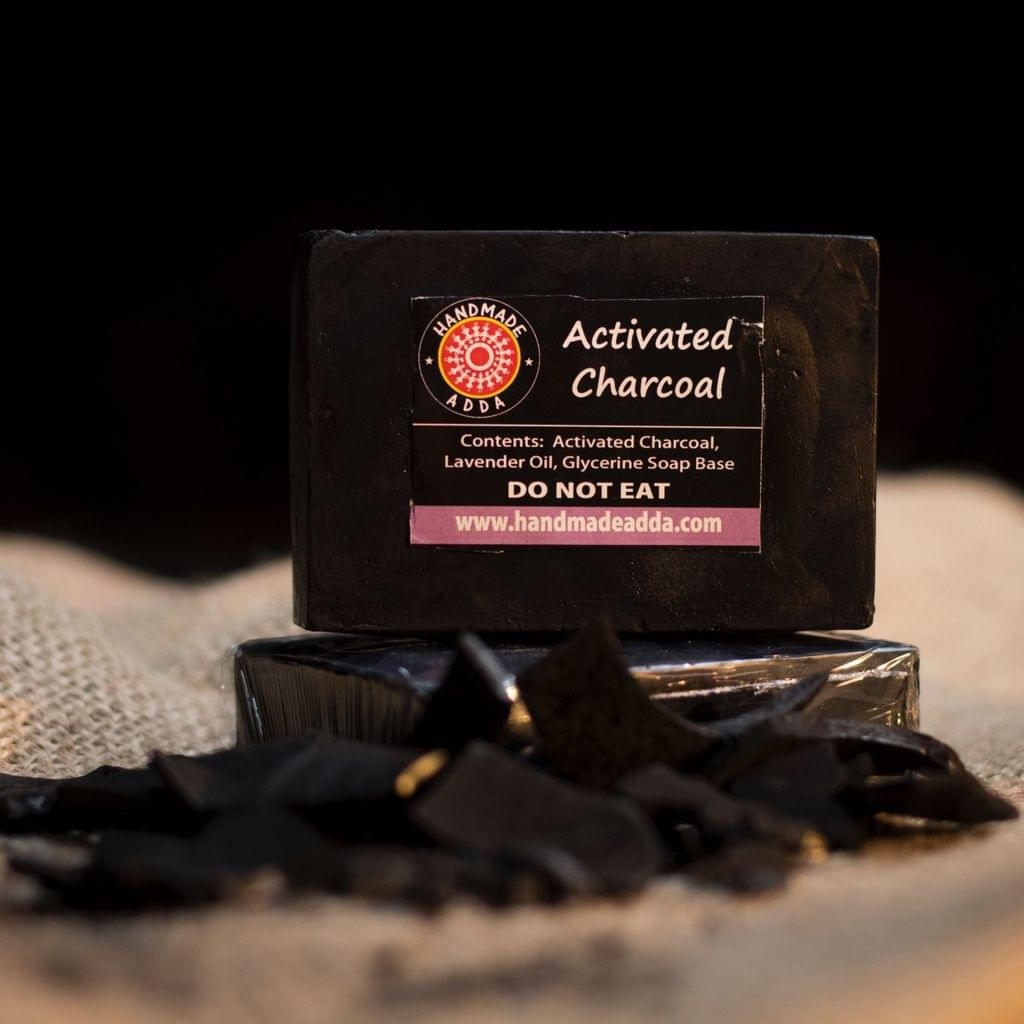 Activated Charcoal with Lavender Oil