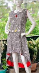 Brown asymmetric Kurti