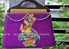 PURPULE ETHNIC BAG