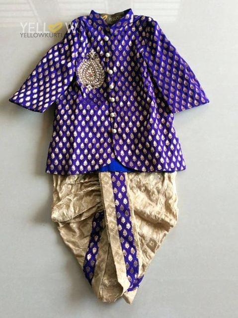PARTY WEAR DHOTI FOR BABY BOYS