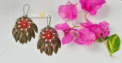 Antique Gold Hangings light in weight and contemparary style