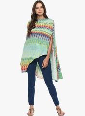 Mine4nine Women's Multicolore maternity Shrug