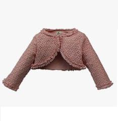 A Little Fable - New Pink Lace Shrug