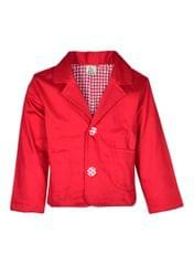A Little Fable Red Winter Coat