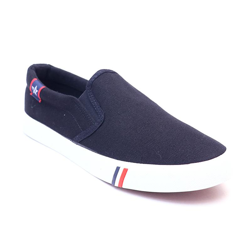 103170-MR.SHOES MEN'S CANVAS LOAFERS