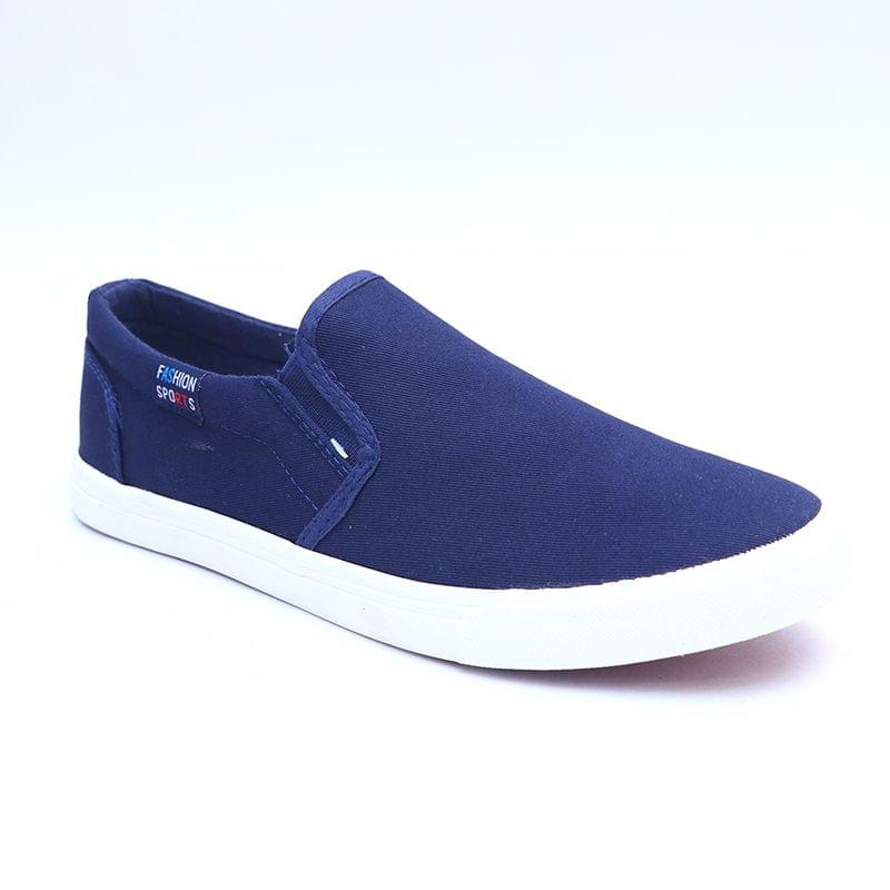 103167-MR.SHOES MEN'S CANVAS LOAFERS