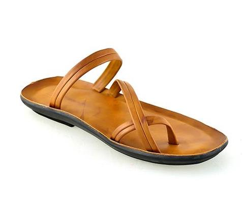 92669-Leefox Synthetic Leather Chappal