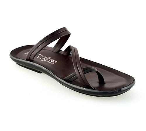 92668-Leefox Synthetic Leather Chappal
