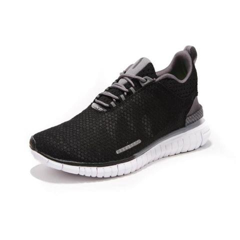 Grey Black Running Shoes