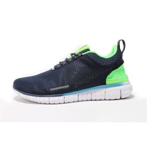 Blue neon Free running shoes
