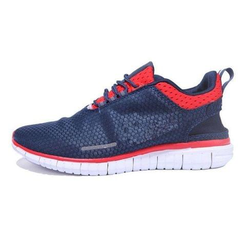 Navy red Runnig Shoes