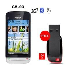 Buy Nokia C503 with Branded 64 GB Pen Drive Free