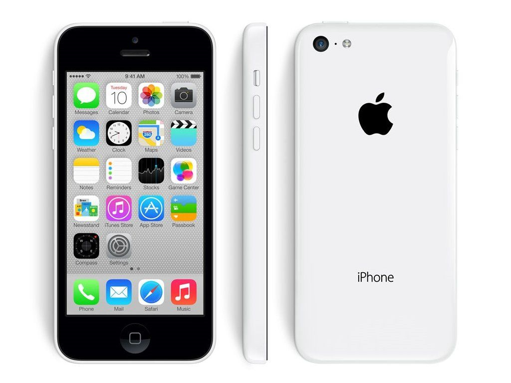 Apple iPhone 5C 8 GB White