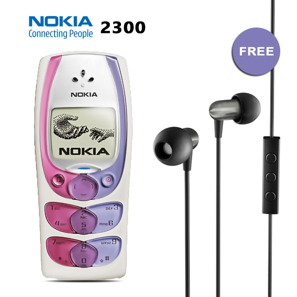 BUY NOKIA 2300 AND GET EARPHONE FREE