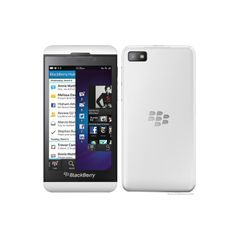 Blackberry Z10  White mobile phone
