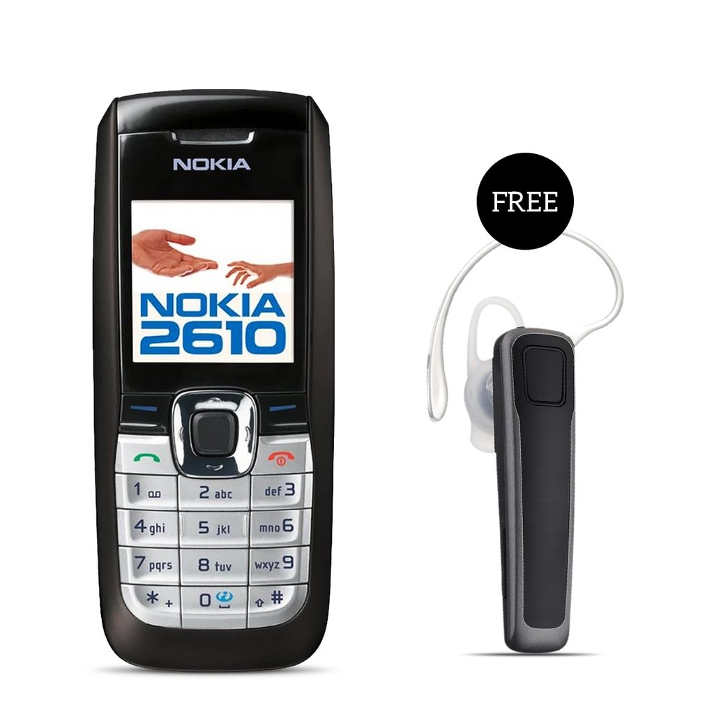 Nokia 2610 Mobile Phone With Free Bluetooth
