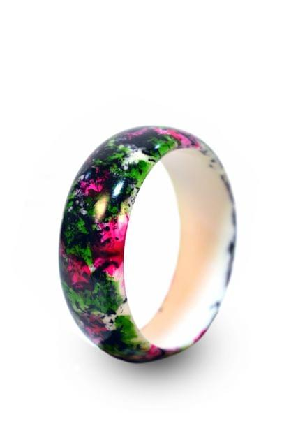 MIDI FROLIC HAND PAINTED BANGLE