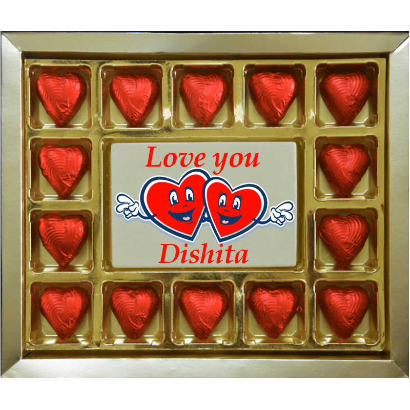 Valentine Gift - Customized Love You Large