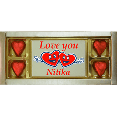 Valentine Gift - Customized Love You