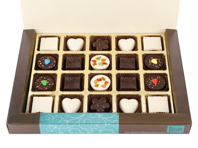 Assorted Chocolates Dark + White