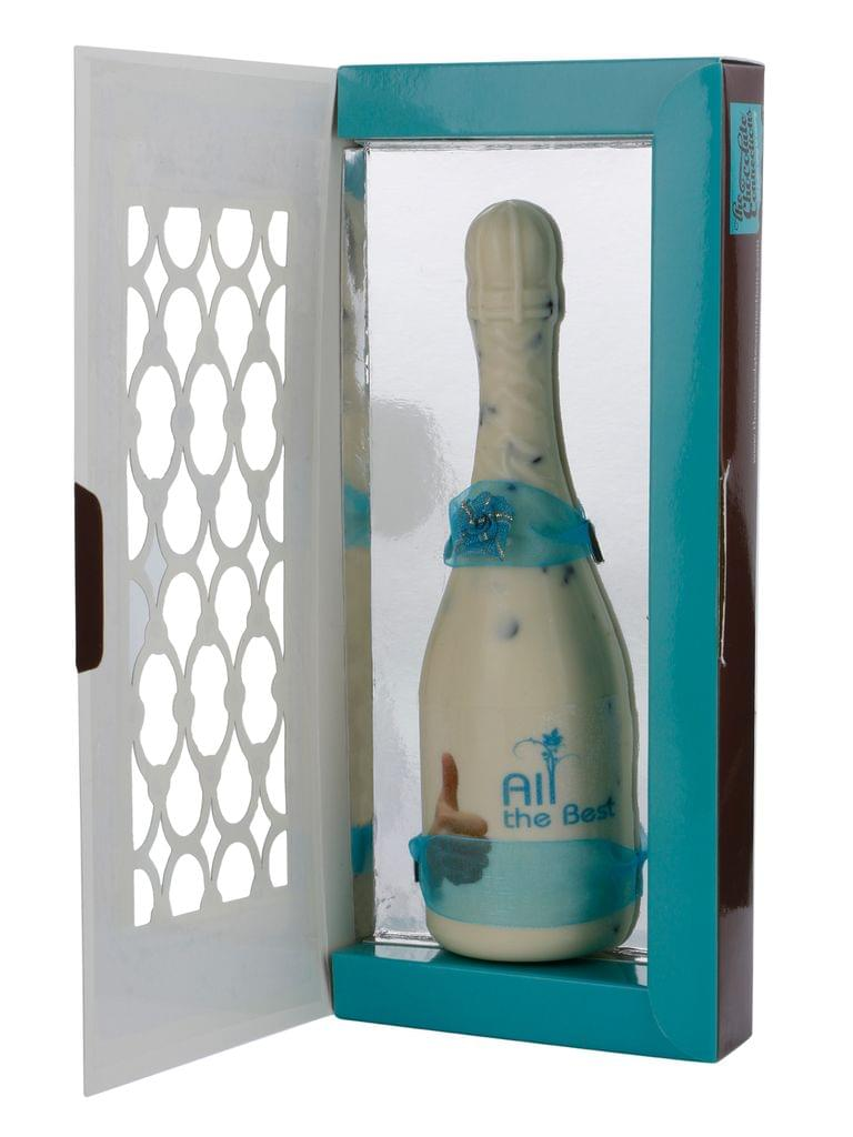All the Best - Chocolate Champagne Bottle
