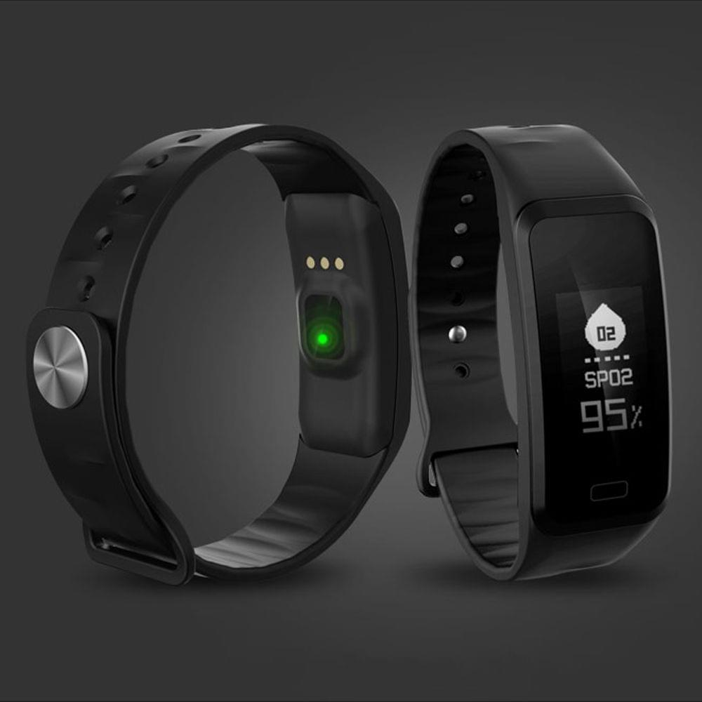New Smart Bracelet Blood Pressure Sleep Heart Rate Monitor Oximeter Pedometer Waterproof Watch for iOS Android
