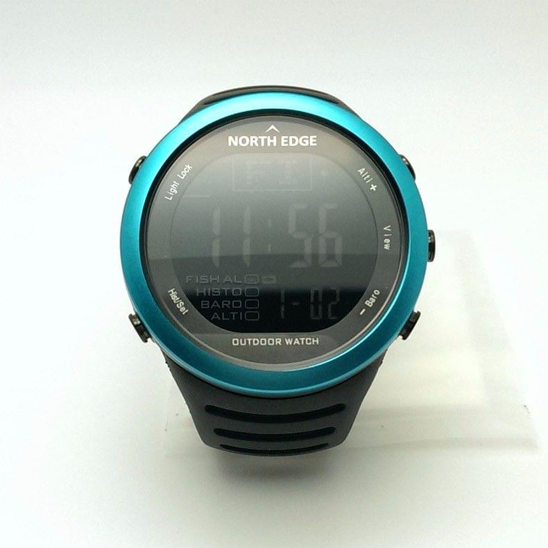 New digital Outdoor clock Fishing weather altimeter barometer, thermometer height climbing Hiking wrist watch