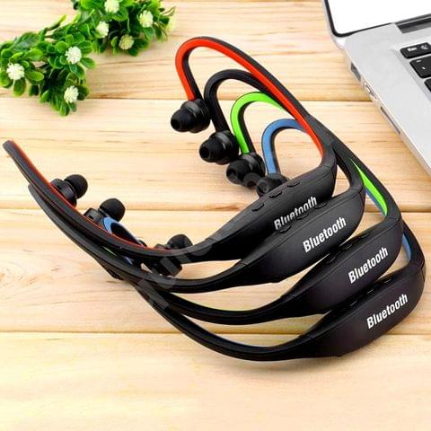 New Wireless Universal Bluetooth Stereo Headset - Portable Earphones With Microphone