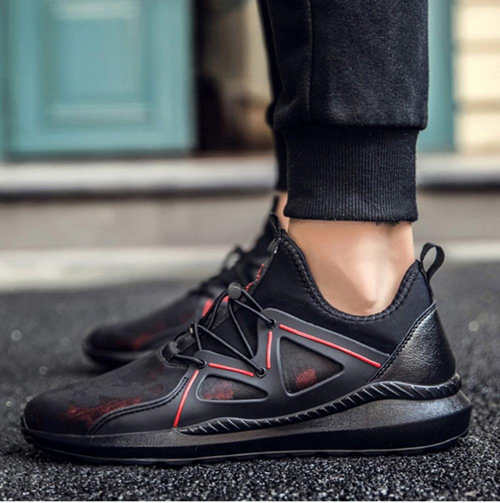 New Branded high quality mesh fashionable casual without heels Men's shoes