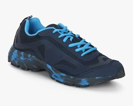 New Branded Unique Style Navy Blue Sports Shoes for Men