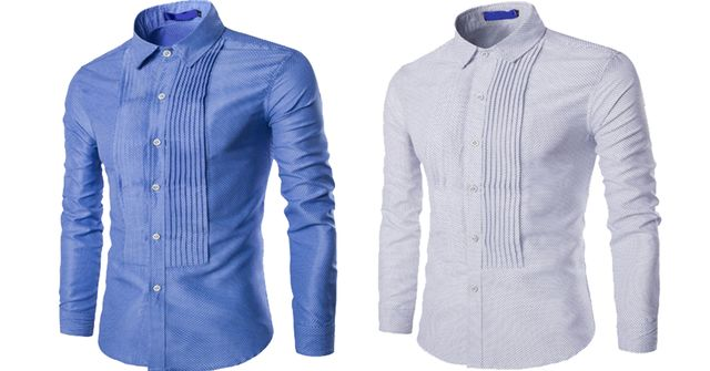 Combo of 2 Unique Wrinkle Style Men's Leisure Shirts