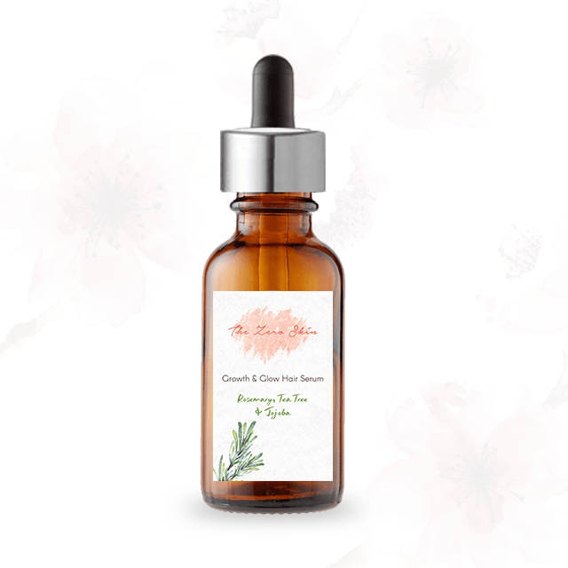 Growth & Glow Hair Serum (Rosemary, Tea Tree & Jojoba)