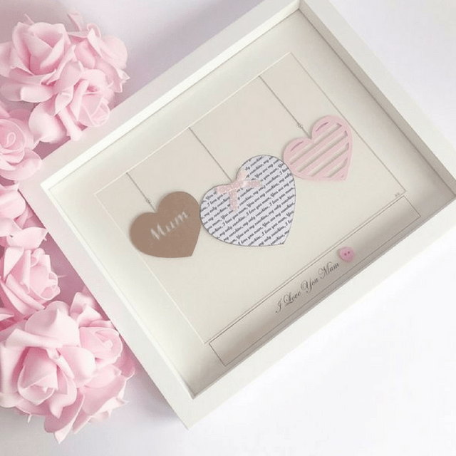 Personalised Heart Frame Gift for New Mum, Personalized Frame for ...