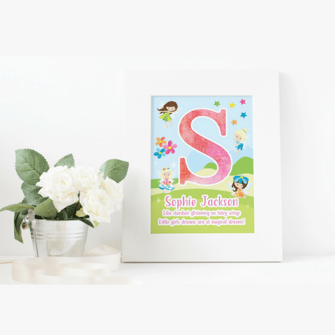 Personalised Fairy Print