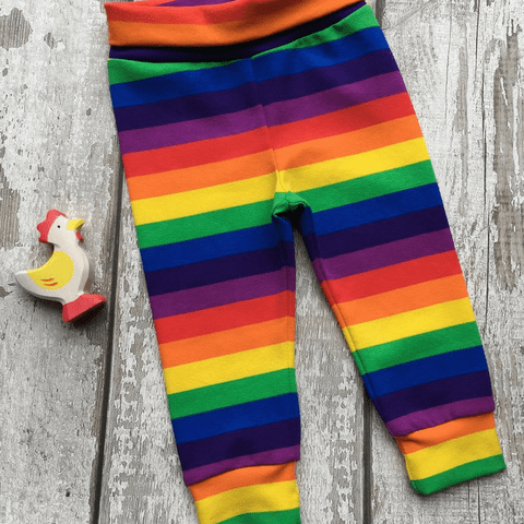 Baby Leggings - Rainbow Stripes