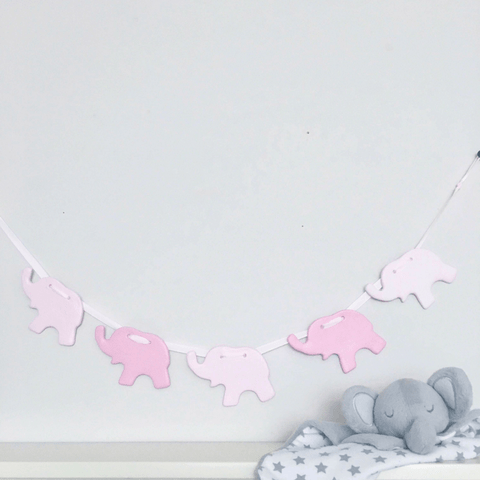 Pink Elephant Bunting