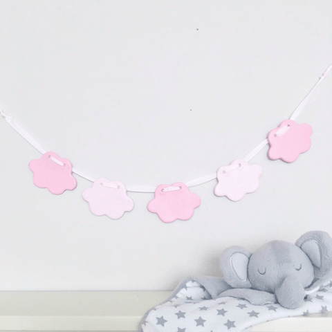 Pink Clouds Bunting