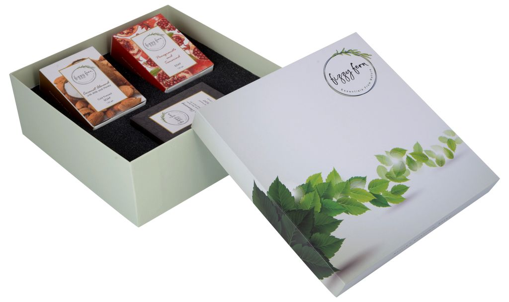 The Daily Soaps Gift Box (Coconut, Pomegranate & Deep Cleansing)