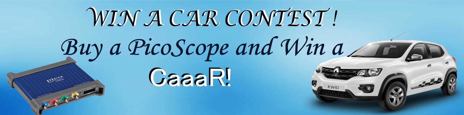 WIN A CAR CONTEST VIGVEN PICOSCOPE