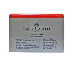 Faber Castell Red Stamp Pad-Medium