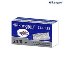 Kangaro 24/6 Staples(pack of 30)
