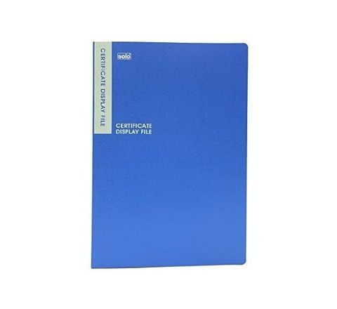 Solo Certificate Display File - 20 Pockets (B4 Size)